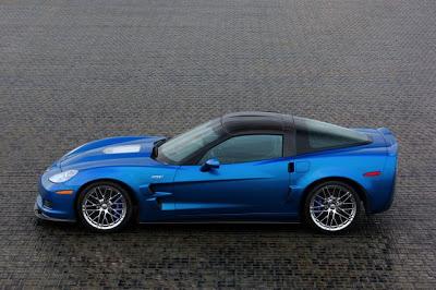 2009 Chevrolet Corvette ZR1 (Blue Devil)