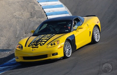Yellow Chevrolet Corvette 2009 ZR1