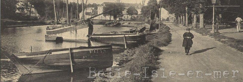 Belle Ile en Mer autrefois
