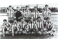 Un once inicial del Algeciras en la temporada 94/95
