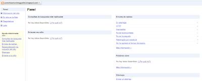 instalar las herramientas del webmaster google en tu blog