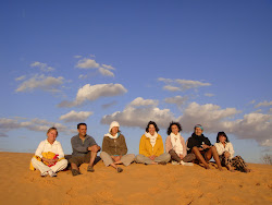 Pause sur une dune