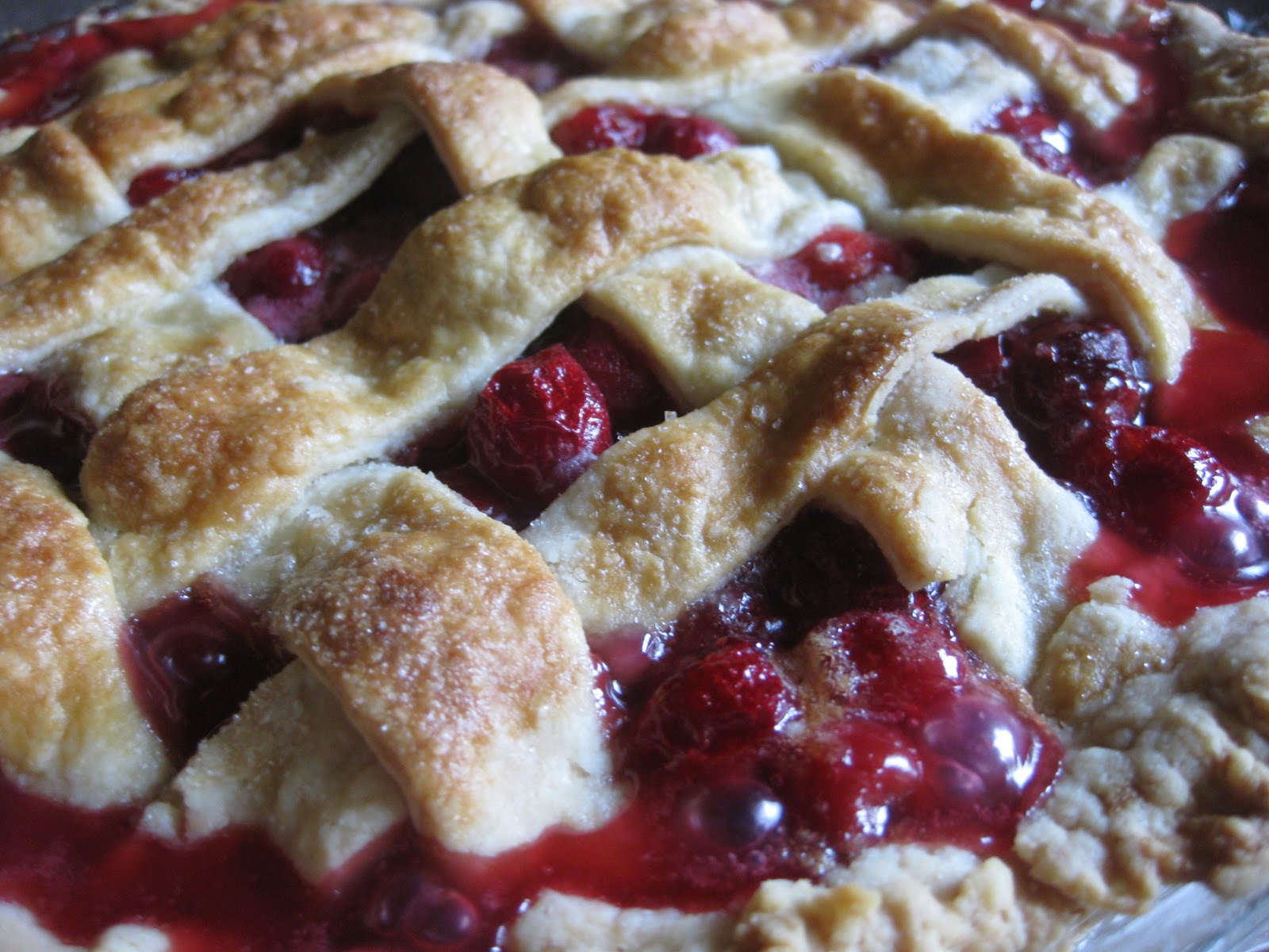 cherry pie with lattice crust classic cherry pie with lattice crust ...