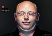 Hyundai's 'Turbo Face' Ad Campaign Makes A Bold Face turboface denny hyundai print ad