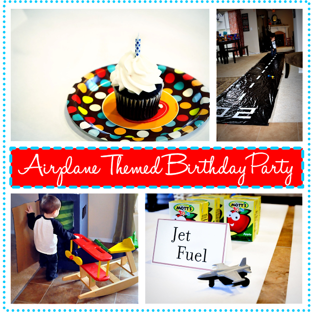 Finding My Aloha: Airplane Themed Birthday Party {on a budget}