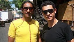 Posando para la camara, El Indio y Camilo Then