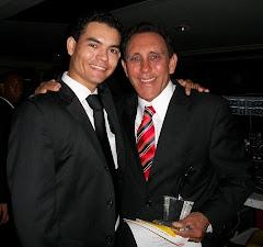 Camilo Then y el Dr. Cruz Jiminian