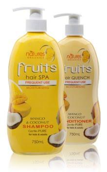 Natures Organics Fruits Shampoo Ingredients
