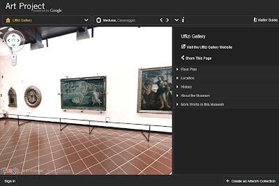 Beispiel Google Art Project Geburt der Venus Botticelli