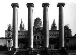 Montjuïc columnas