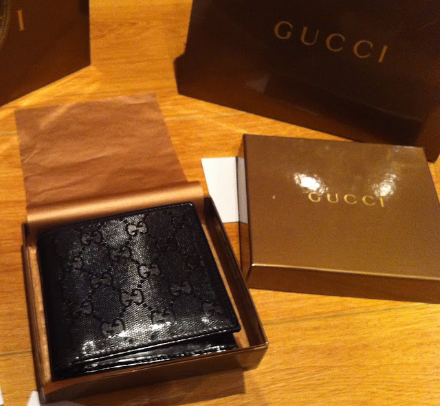 Gucci Wallet Black Imprime