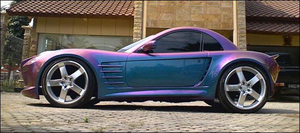 extreme car modified