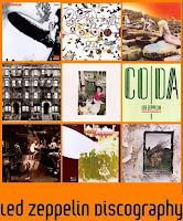 imagem com as capas de todos os discos oficiais da banda de rock Led Zeppelin
