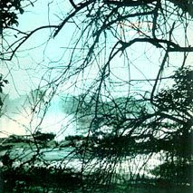 Contracapa do LP Fim do Mundo, de 1983. O Salto das 7 Quedas registrado por Paulo Malária