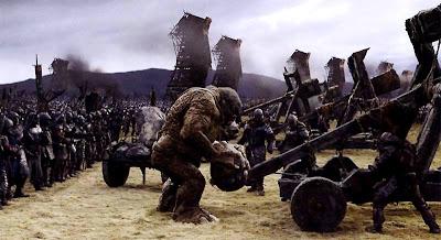 Cena da Batalha de Pelennor