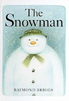 The Snowman - Capa do livro de Raymond Briggs. Clique para saber mais!