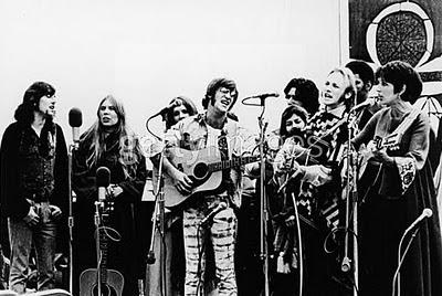 Artistas celebraram a paz e o amor em Big Sur