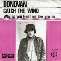 Capa do compacto Catch the Wind, primeiro lançamento do compositor Donovan
