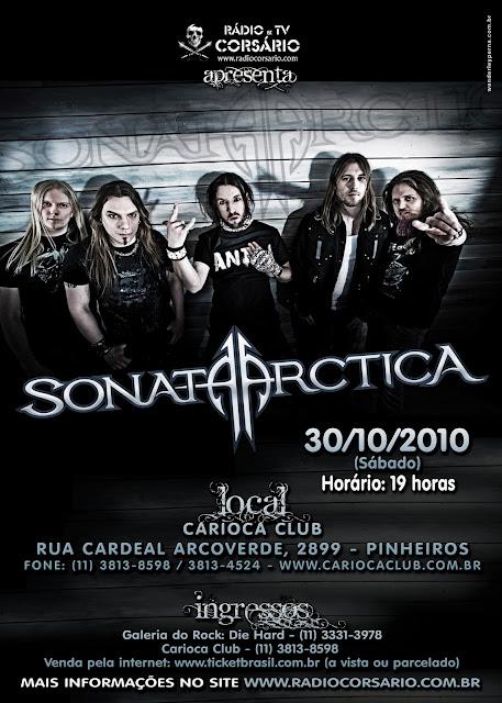 Cartaz Sonata Arctica