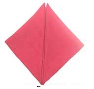 doblado de servilletas la piramide