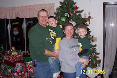 My family at Christmas 2006