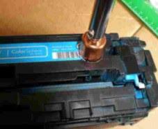 rellenar cartucho hp laserjet cp
