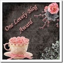 A Lovely Blog Award...