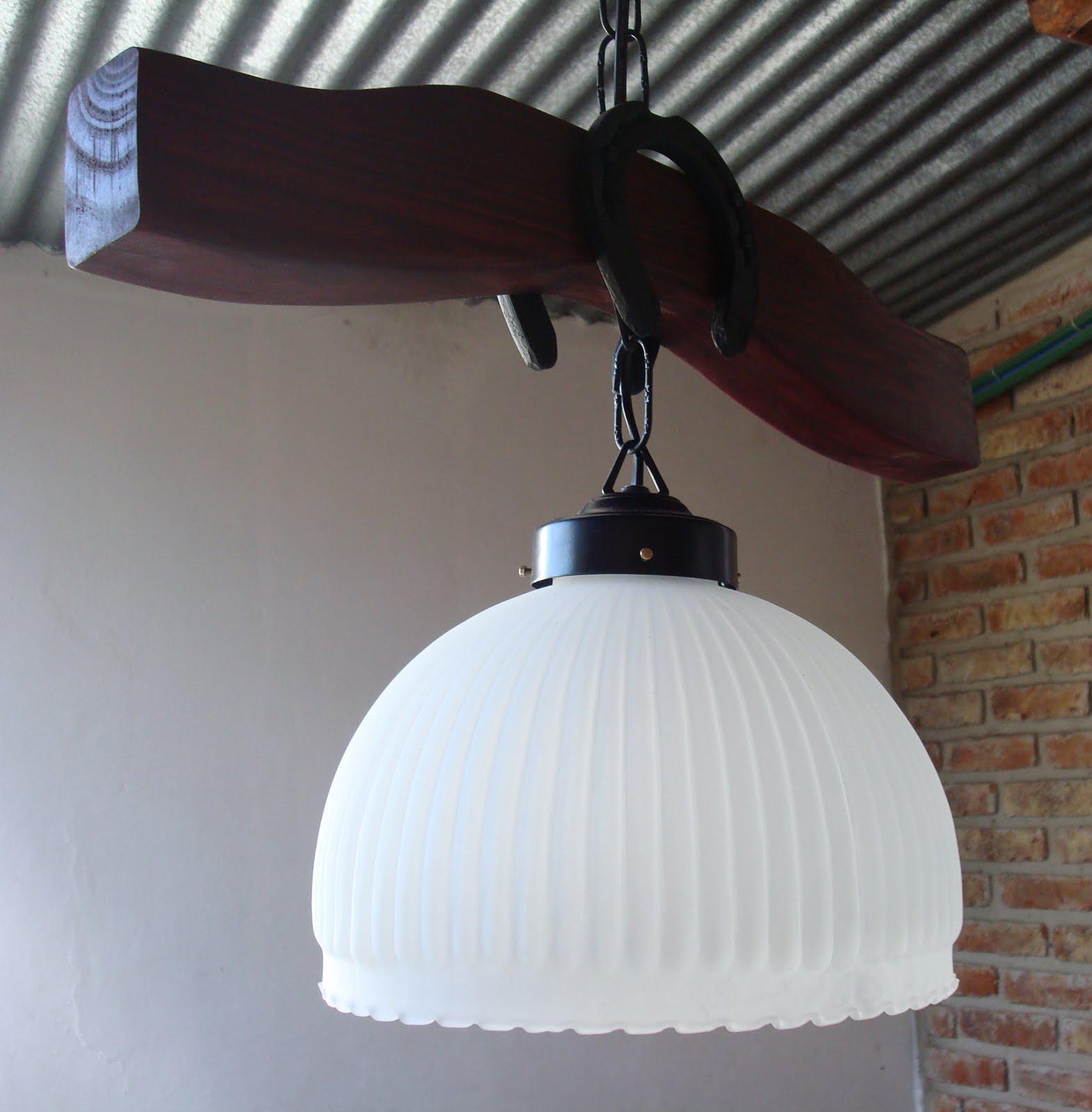 Urneyo iluminacion y algo mas lampara de campo de - Tulipas de lamparas ...