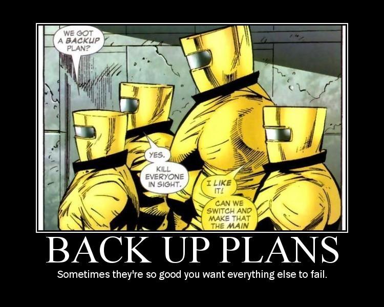 Sunday funny plan b