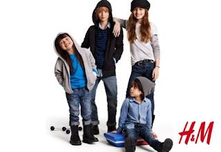 Kinderkleidung von H  M