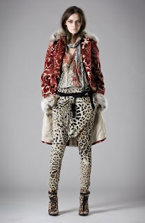 Fashion Roberto Cavalli animal print