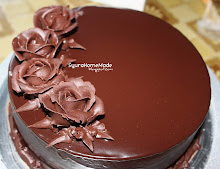 Kek ROse Cokelat