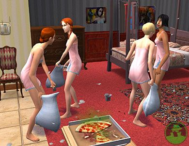 Like Babyz , The Sims is infinitely more disturbing than most virtual