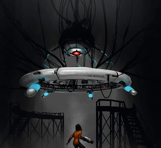 Portal GLaDOS concept art