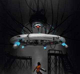 Portal GLaDOS concept art