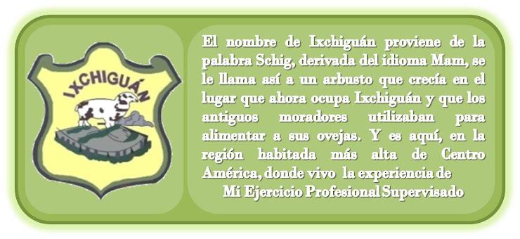 Mi EPS en Ixchiguán