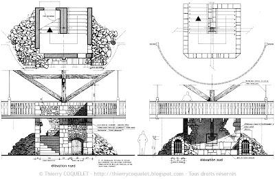Malvern, escalier de la salle 1