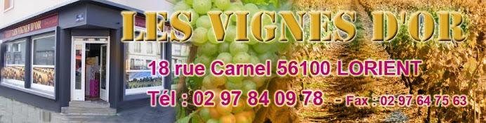 Vignes d'or, vins et spiritueux Lorient