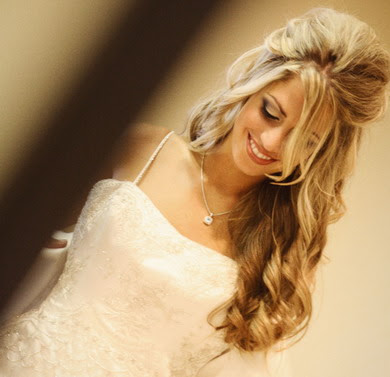 wedding hairstyle picture. bangs Wedding Hairstyles