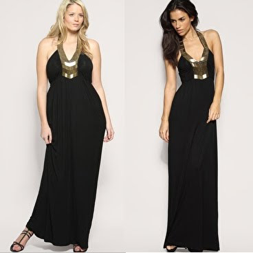 Black Maxi Dress on Fashion   Style  Stylish Looks In Maxi Dresses