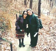 Endah Agustiana PhD Sahabat Marissa Haque saat Sekolah Film di Ohio University, Athens, Ohio, USA