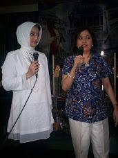 Linda Djalil & Marissa Haque