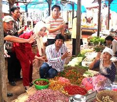 Sayangnya Icha sedang Kampanye di  Pasar Kalianda Lamsel