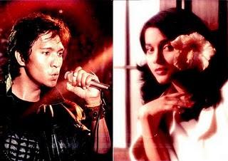 Foto Saat Ikang Fawzi & Marissa Haque Bejanji Setia Sehati Sampai Mati (1983)