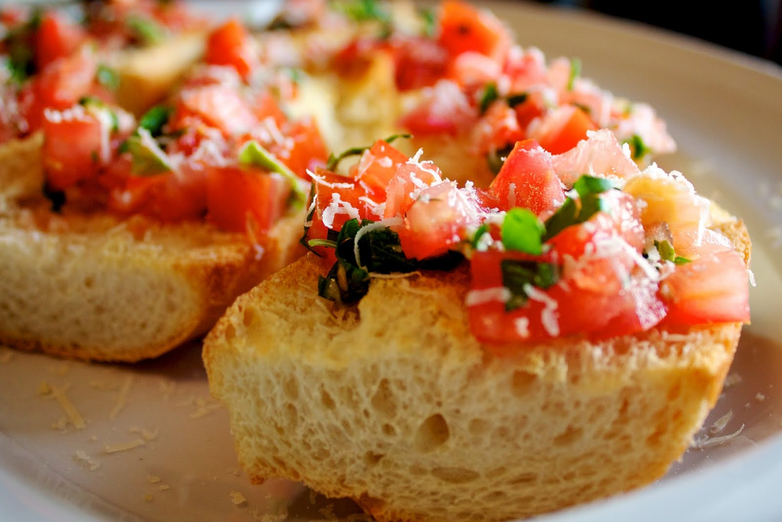 Easy Bruschetta — Our Family Eats
