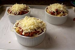 into+the+oven Individual Lasagnas