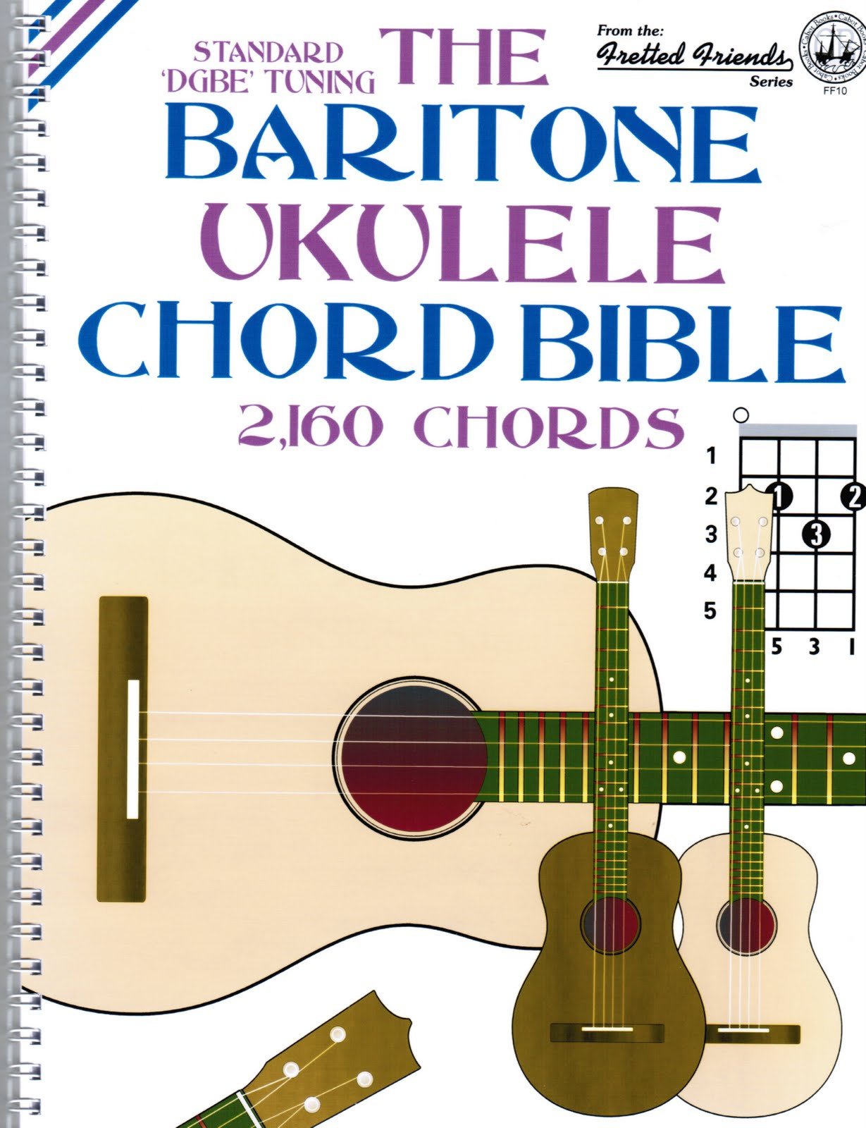 Humble baritonics october 2010 fretted friends the baritone ukulele chord bible hexwebz Image collections