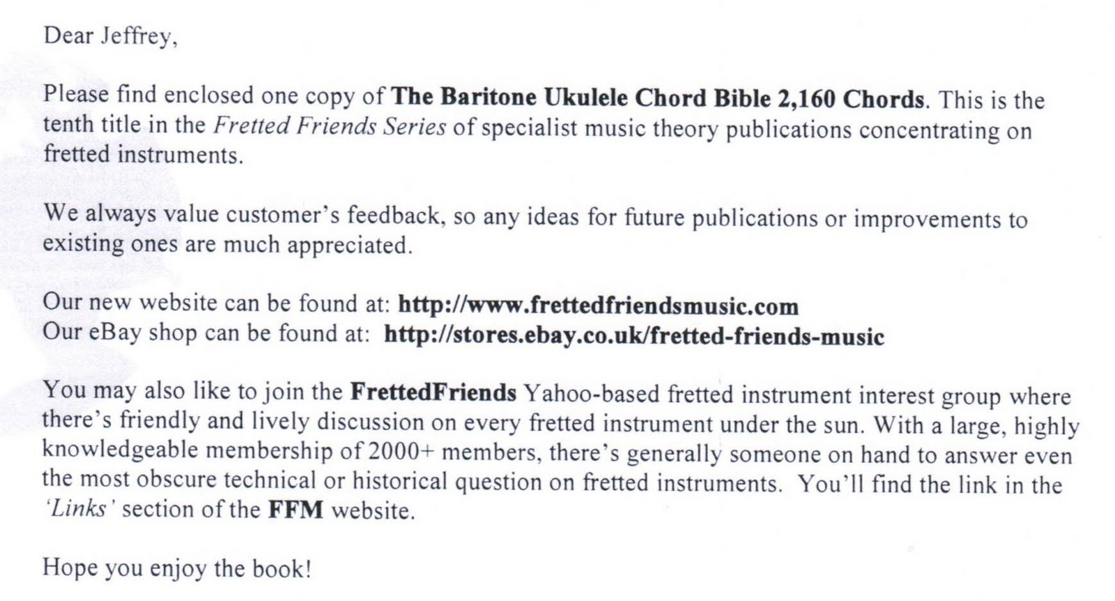 Humble Baritonics Fretted Friends The Baritone Ukulele Chord Bible