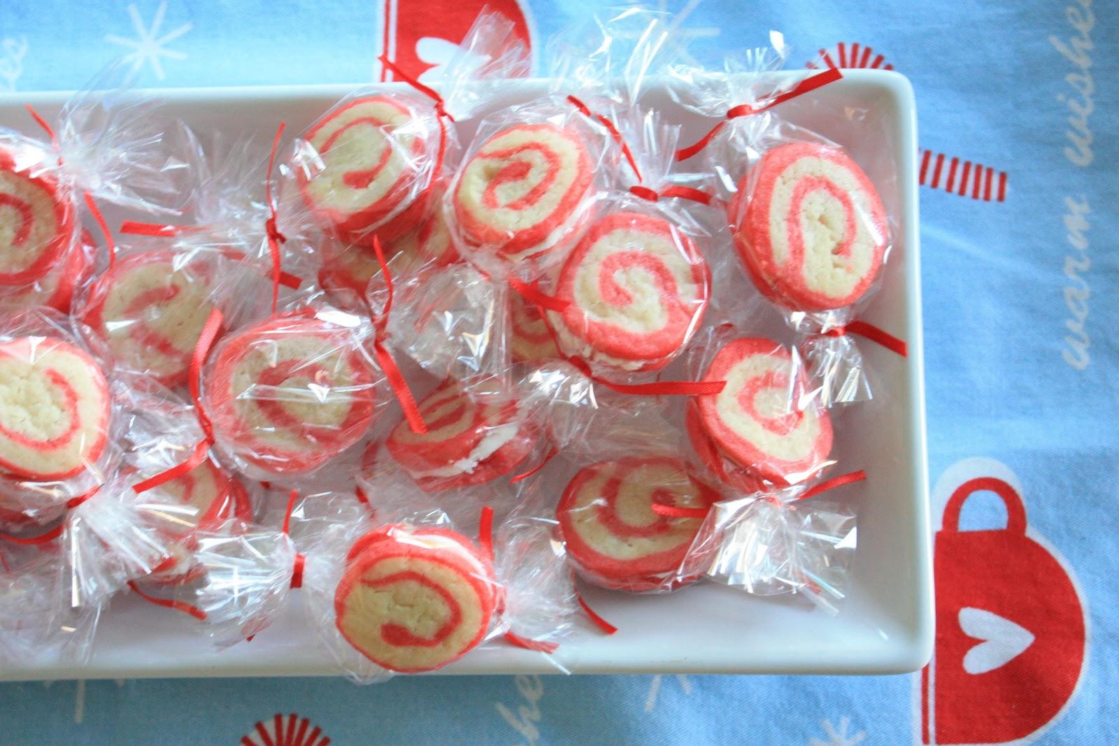 Munchkin Munchies Peppermint Pinwheel Cookies