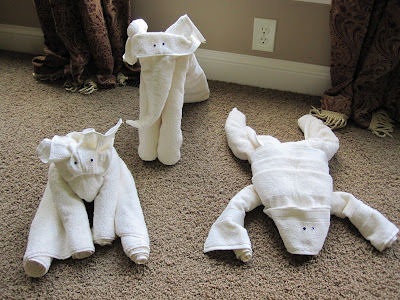 Making your own towel animals